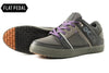 Sense Grey Flat Pedal Shoe | DZRshoes - bottom and side view