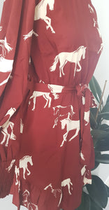 Harriett Horse Graphic Dress