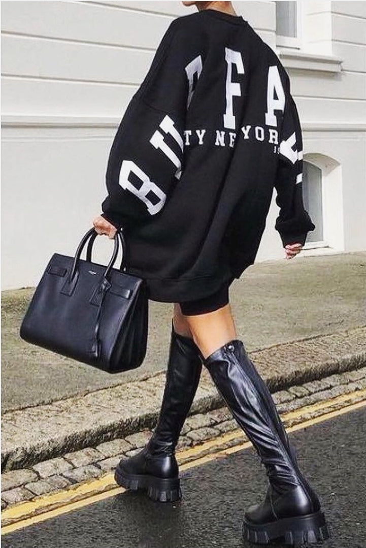 Charlie oversized sweater dress