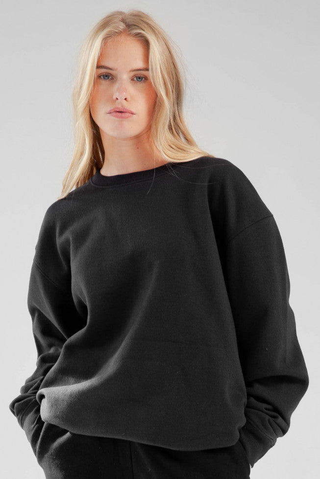Libby Oversized Sweatshirt (Black)
