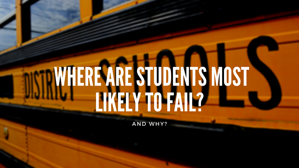 Top 10 School Districts in United States Where Students are Most Likely to Fail