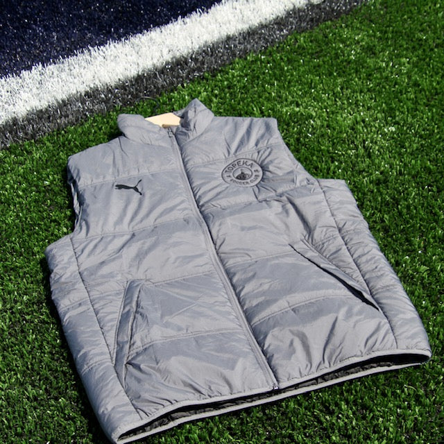 PUMA Sport Essential Padded Vest Back