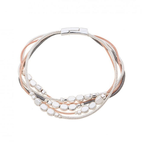 Multi Colour Plated Bracelet
