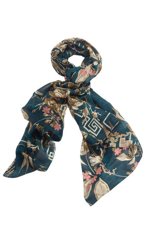Bamboo Teal Scarf by One Hundred Stars