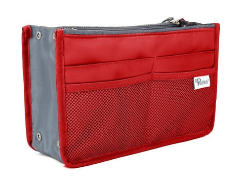 Red Handbag Organiser - medium