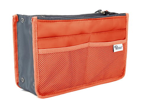 Orange Handbag Organiser - medium