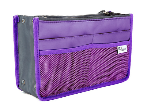 Purple Handbag Organiser - medium
