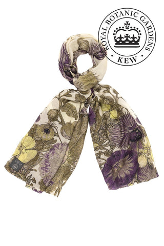 One Hundred Stars Scarf Thistle Purple