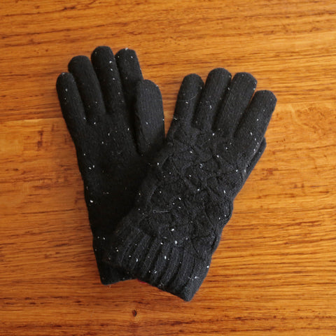 Black Flecked Glove