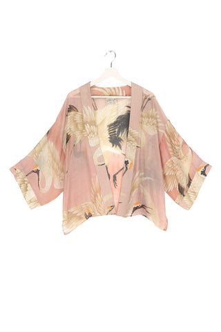 One Hundred Stars Kimono Stork Pink
