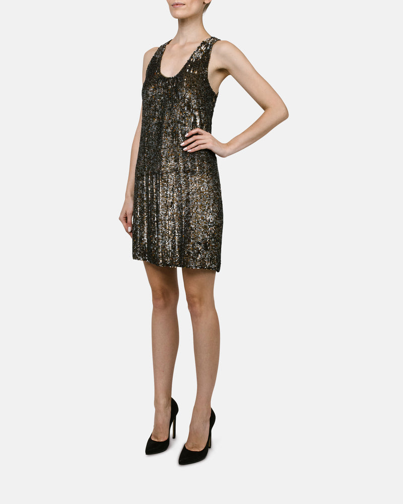 Tank-Dress Allover Sequin
