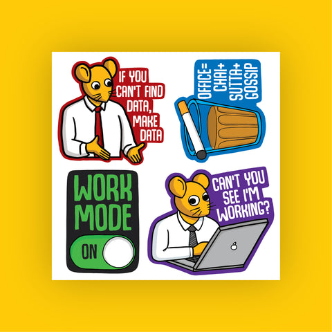 Corporat Sticker Sheet #2 (4 Stickers)