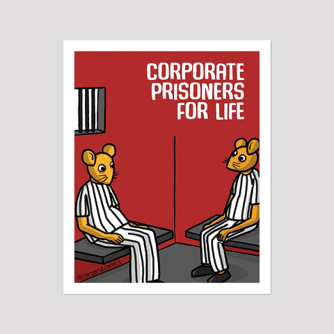 Corporate Prisoners - Poster (Desk / Wall)