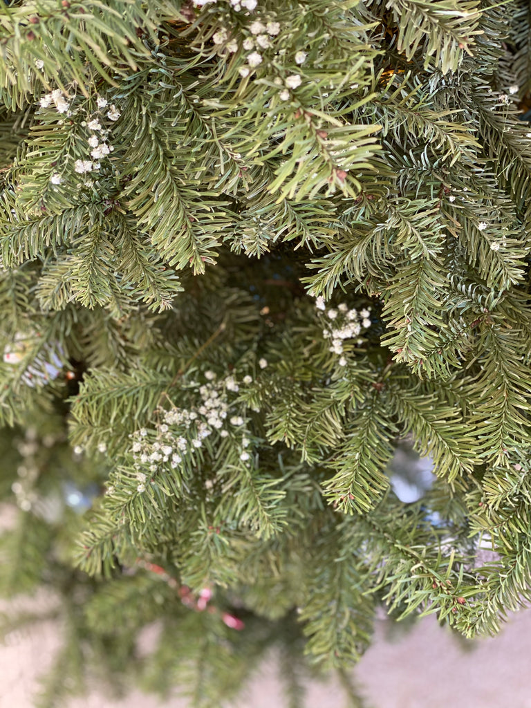 how to hack your christmas tree tips care decoration ornaments babys breath