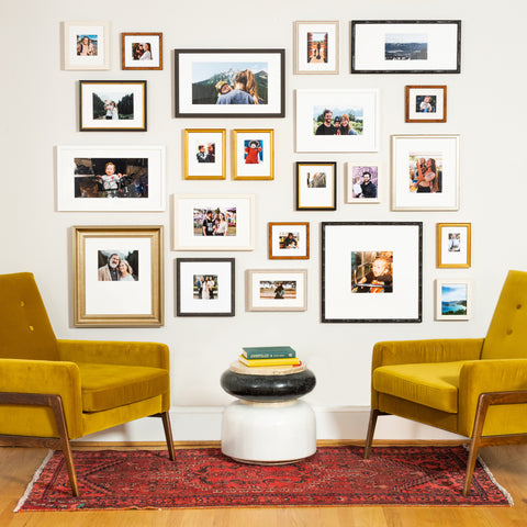 The Endless organic picture wall from Framebridge