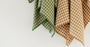 Soft & Delicate Norwegian Lambswool Throw | Røros Tweed Mimi Blankets