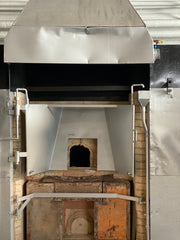 A traditional annealing furnace or kiln at Hadeland Glassworks