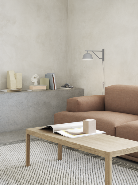 The Workshop coffee table by Cecilie Manz for Muuto in halfsize