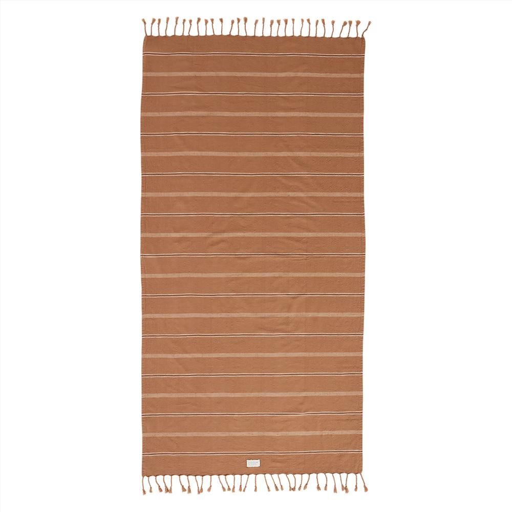 Dark Caramel Kyoto Bath Towel