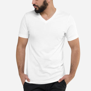 Custom Unisex V-Neck T-Shirt - Detalles