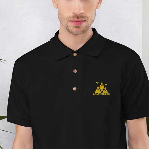 Adventurer | Custom Polo Shirt Embroidery - Detalles