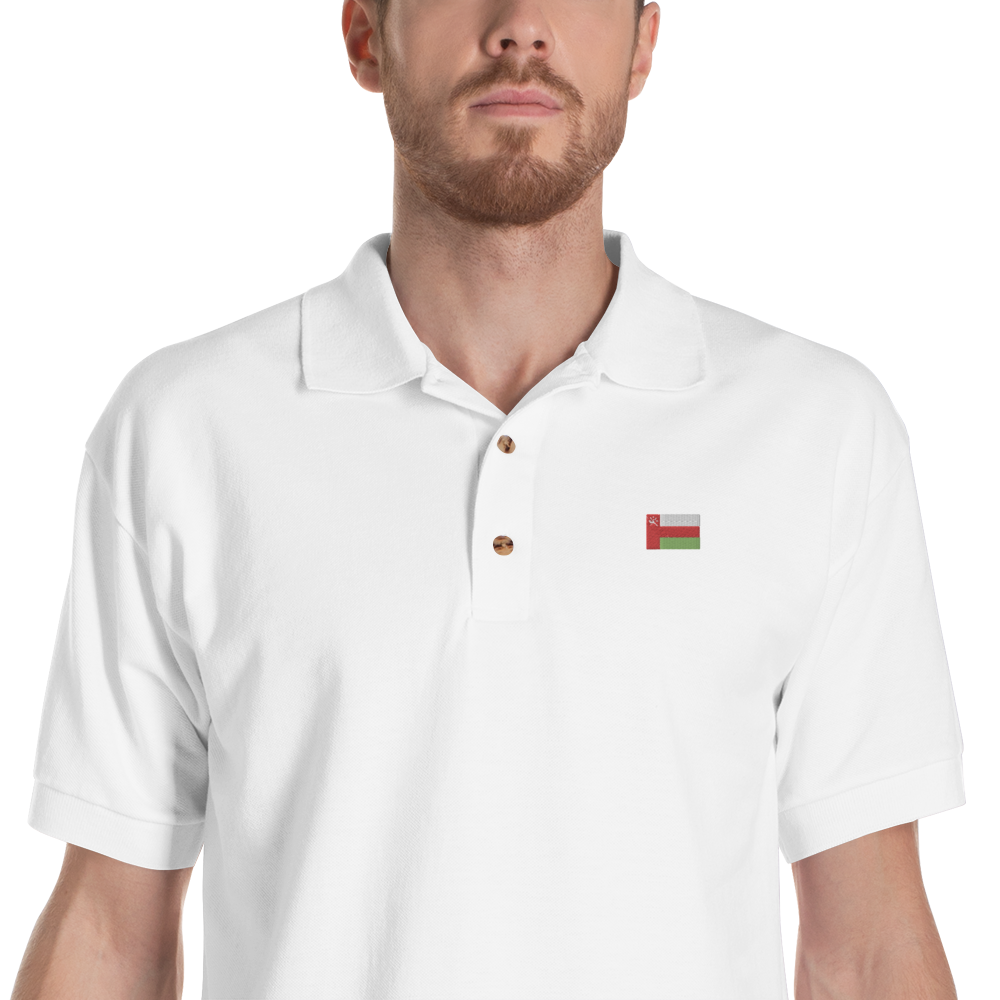 Country | Embroidered Polo Shirt