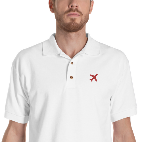 Travel | Embroidered Polo Shirt - Detalles