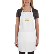 Load image into Gallery viewer, Embroidered Apron | Cook King