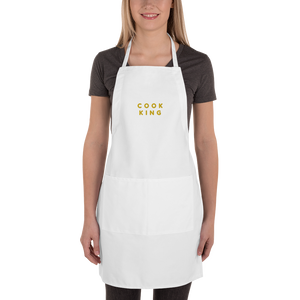 Embroidered Apron | Cook King