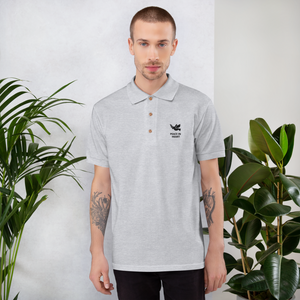 PEACE | Embroidered Polo Shirt - Detalles