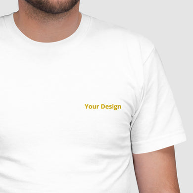 تطريز تيشيرت | Custom Embroidered T-Shirt - Detalles