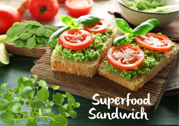 DIY Superfood Sandwich - Serves 3-4 - Gourmet Garden