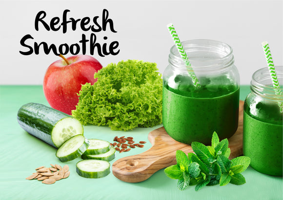 DIY Refresh Smoothie - Serves 2-3 - Gourmet Garden