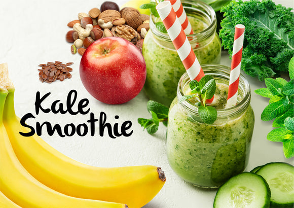 DIY Kale Smoothie - Serves 2-3 - Gourmet Garden