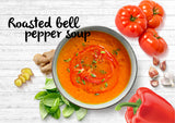 DIY Roasted Bell Pepper Soup - Serves 3-4 - Gourmet Garden