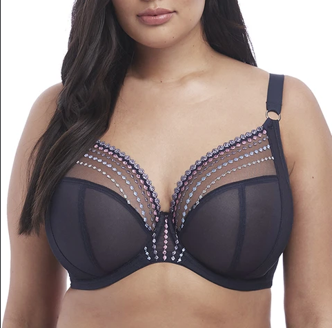 Elomi Matilda Underwire Plunge Bra El8900 - Fashion Colors **NEW COLOR**