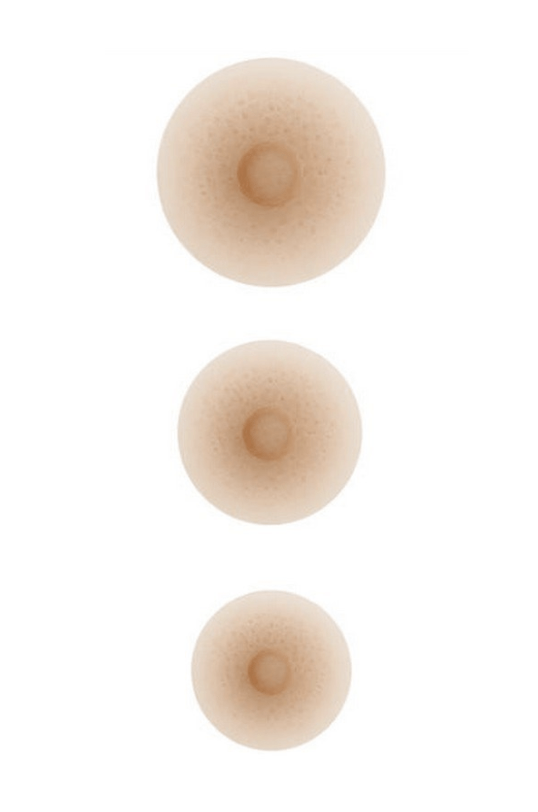 Amoena Adhesive Nipples Post-Breast Surgery Ivory / S Amoena