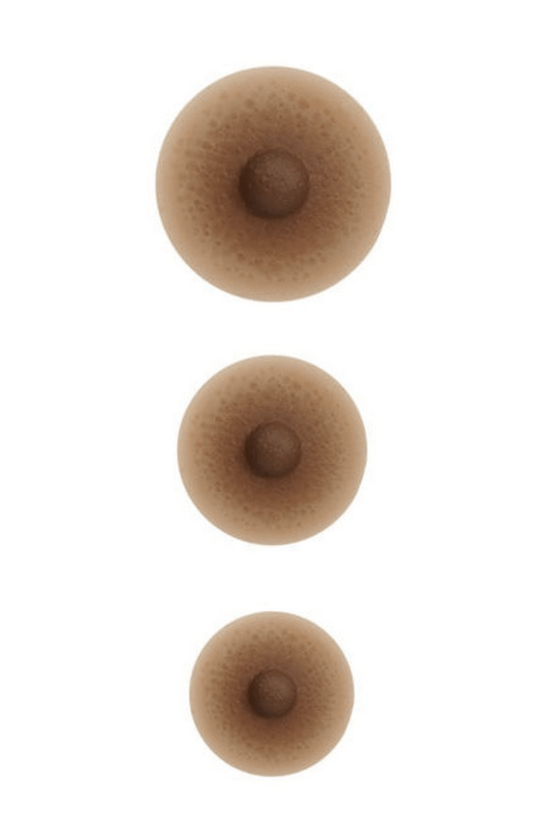 Amoena Adhesive Nipples Post-Breast Surgery Tawny / S Amoena
