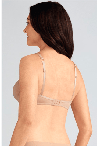 Amoena Lara Padded Wire-Free Bra - Nude, Off White Bra, Post-Breast Surgery Nude / AA / 34 Amoena