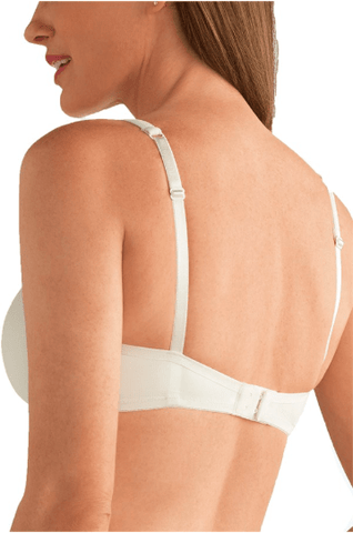 Amoena Lara Padded Wire-Free Bra - Nude, Off White Bra, Post-Breast Surgery Off White / AA / 34 Amoena