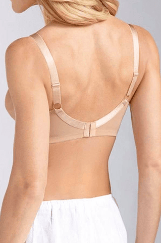 Amoena Nancy Wire-Free Soft Bra - Nude Bra, Post-Breast Surgery Amoena