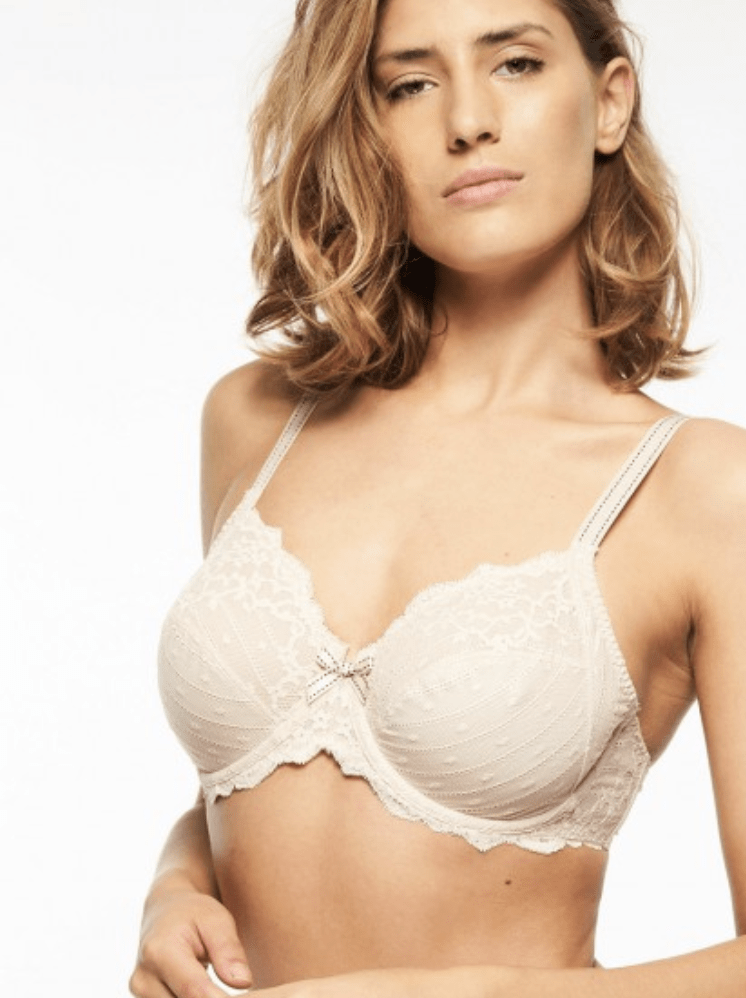 Chantelle Rive Gauche Full Coverage Unlined Bra 3281 Bras Nude / C / 34 Chantelle