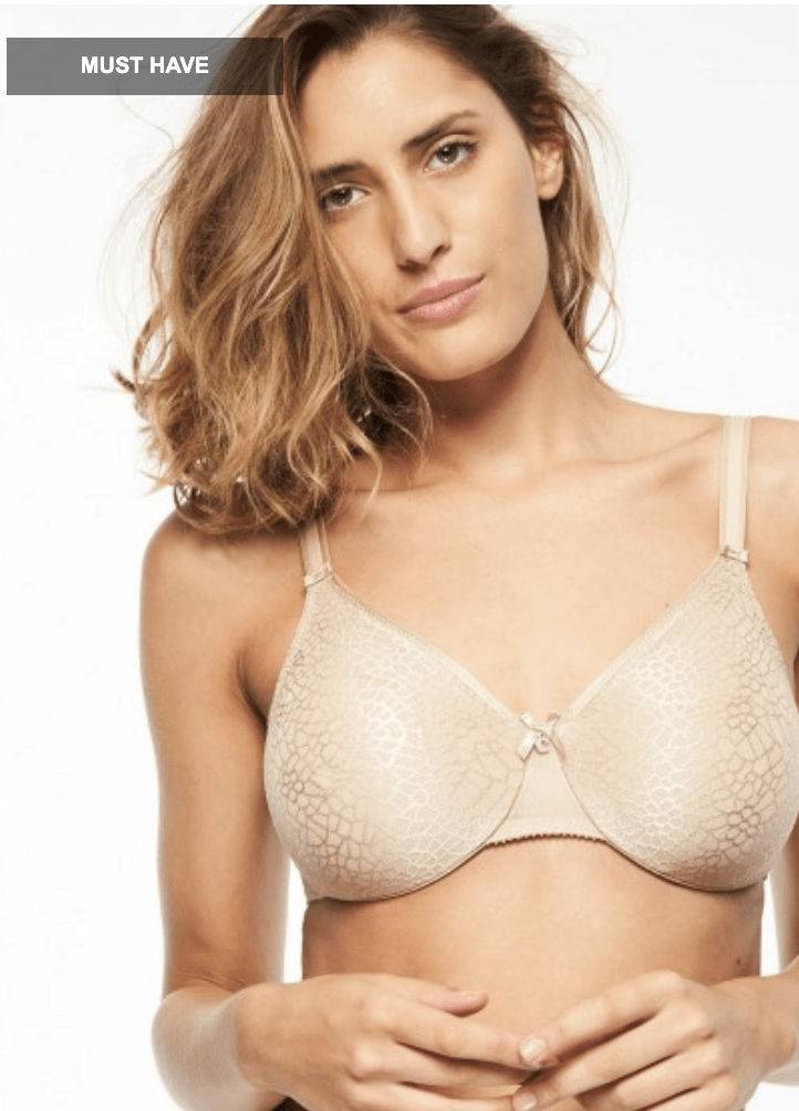 Chantelle Seamless Unlined Minimizer 1891 Bras Ultra Nude / C / 34 Chantelle