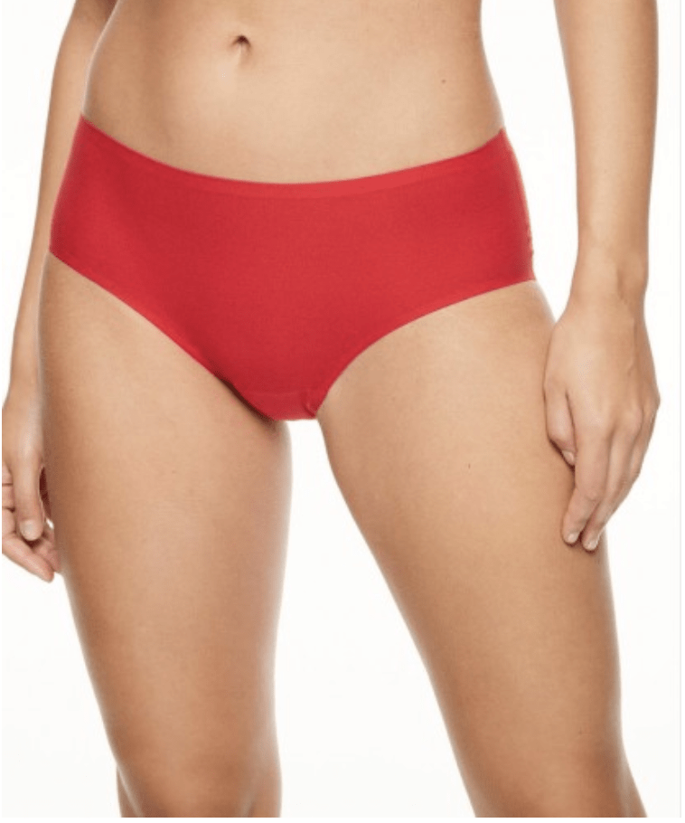 Chantelle Soft Stretch Hipster Panties 2644 Panties Poppy Red / O/S (S-XL) Chantelle