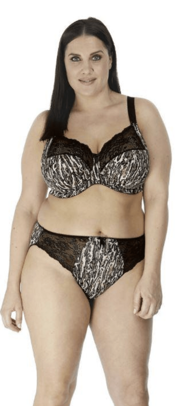 Elomi Morgan Brief Panties EL4115 Panties Ocelot / M Elomi