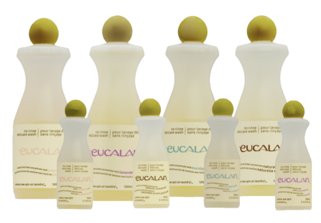 Eucalan No Rinse Delicate Wash 3.3oz Accessories Natural Unscented, Lavendar, Grapefruit, Wrapture-Jasmine / 3.3oz Eucalan