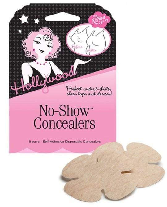 Hollywood Fashion Secrets No-Show Concealers 52451 Accessories Hollywood Fashion Secrets