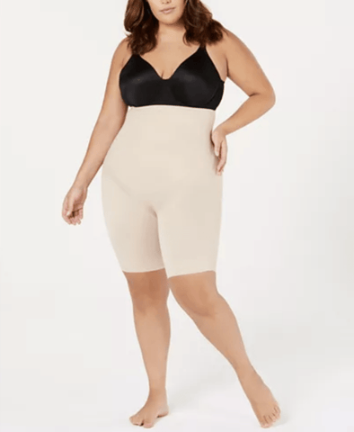 Miraclesuit Shapewear Flexible Fit Plus Hi Waist Thigh Slimmer 2939 Shapewear Nude / 1X Miraclesuit