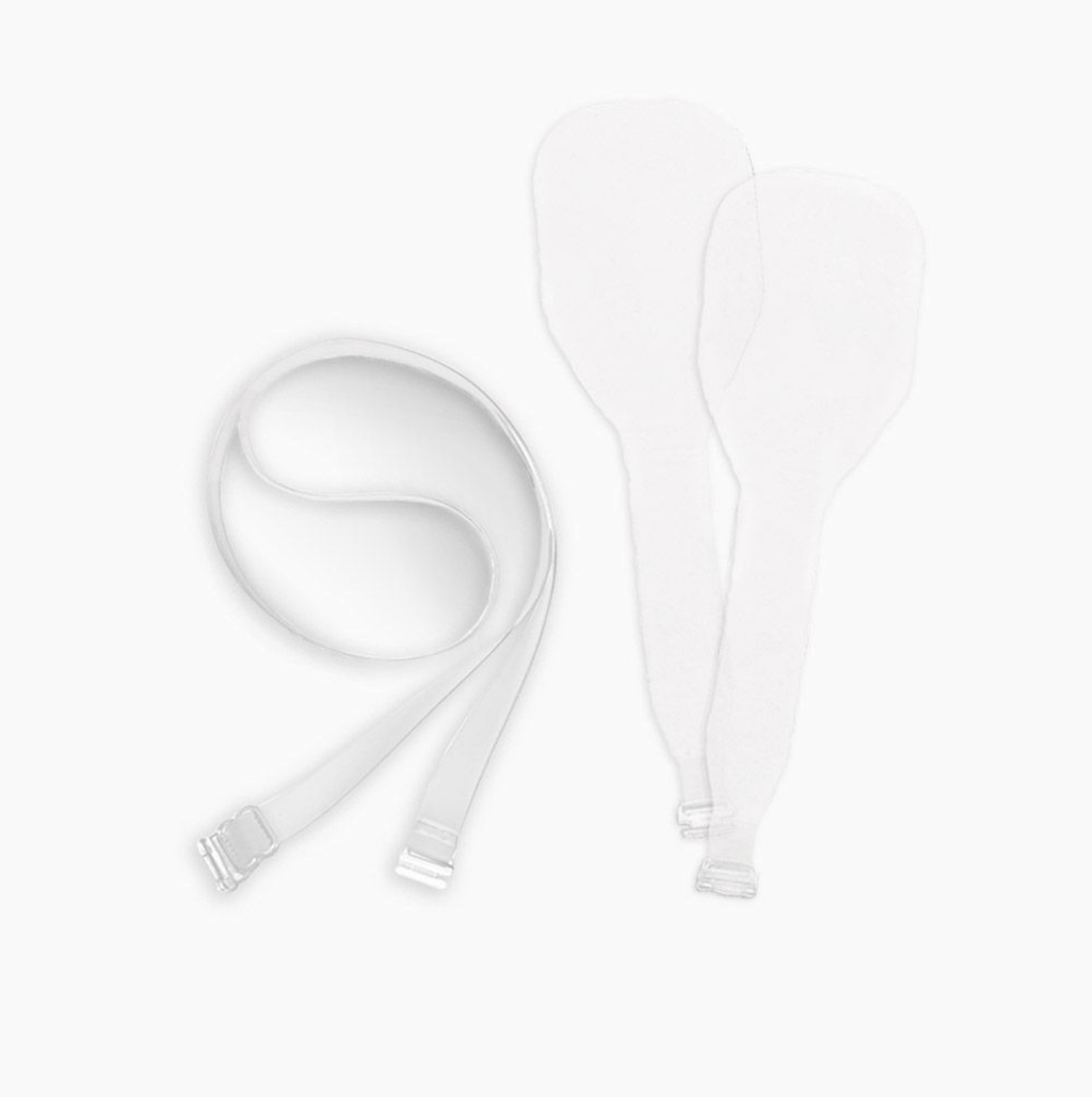NuBra NuWay Strap Pack A104 Accessories Clear / O/S NuBra