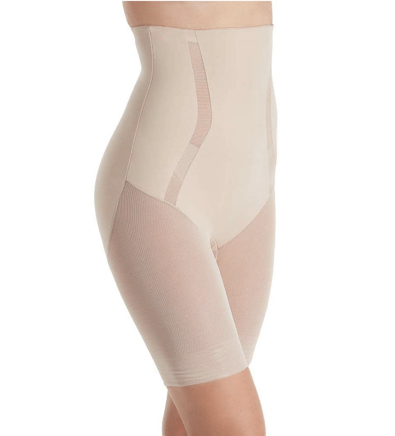 TC Middle Manager Hi Waist Thigh Slimmer 4289 Shapewear Nude / S TC